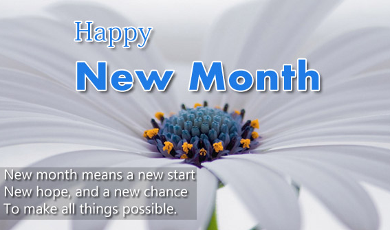 Happy new Month Messages