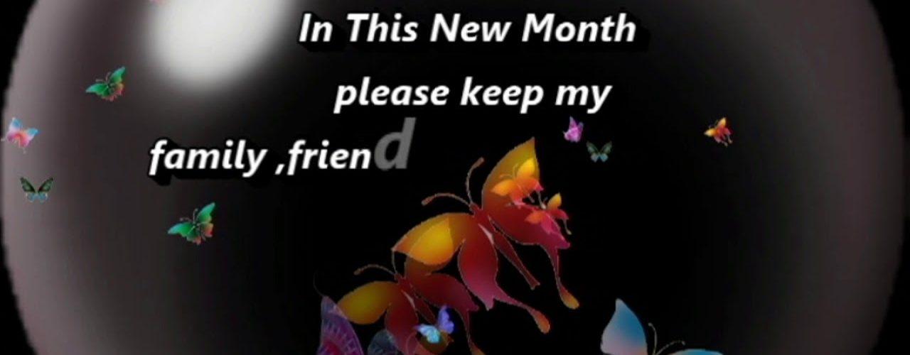 Interesting New Month Prayers