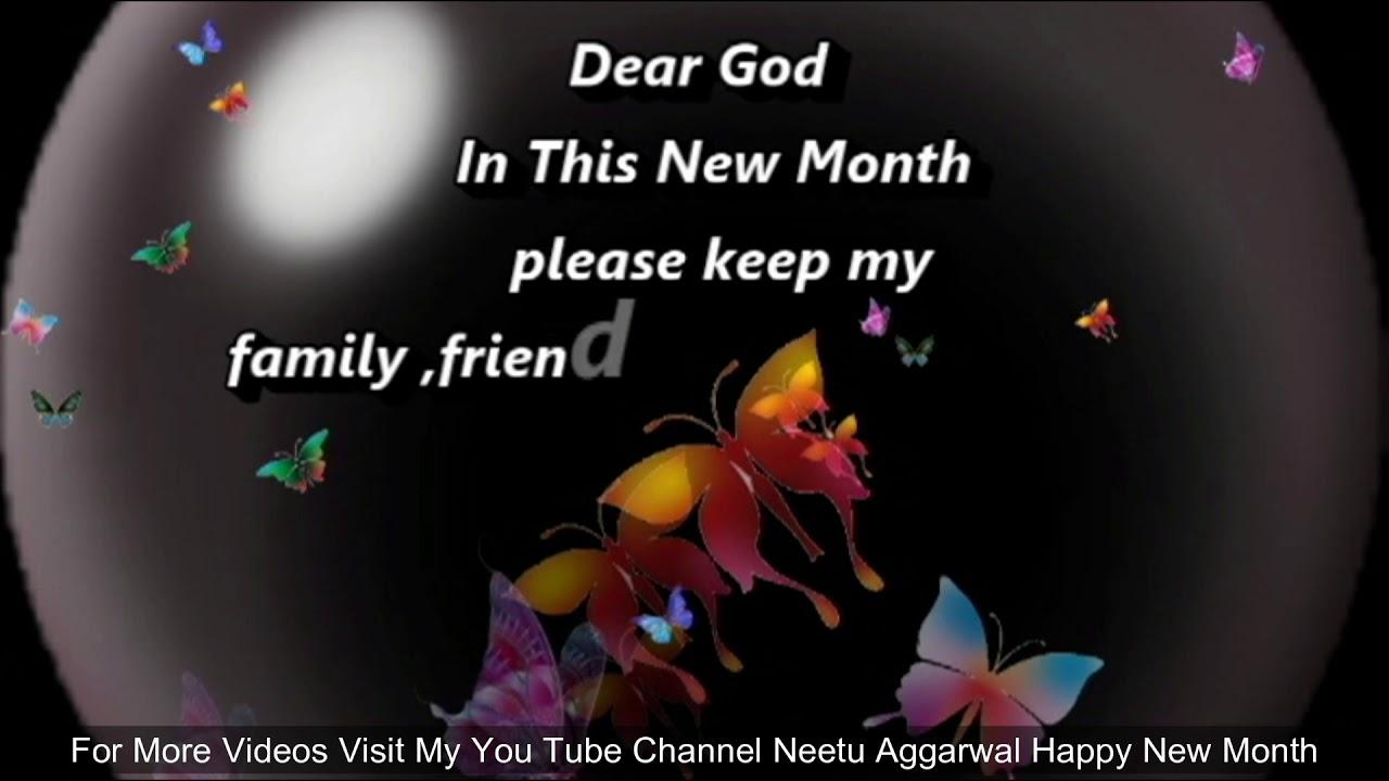 New Month Prayer