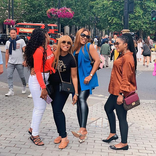 Linda Ikeji's sisters