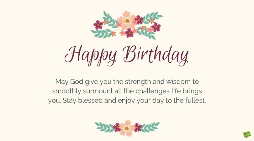 birthday prayers for myself